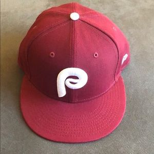 Phillies New Era Maroon Cooperstown Collection